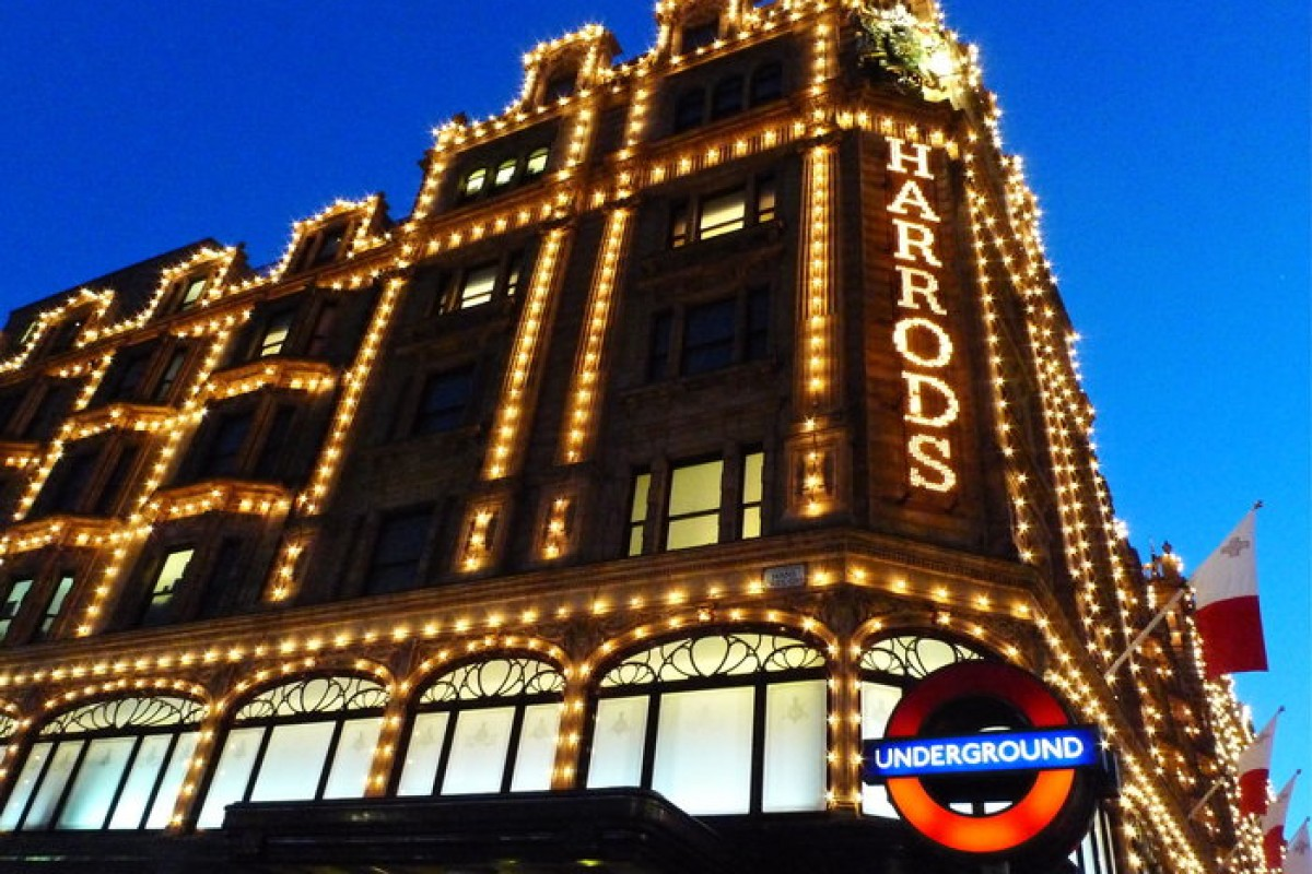 Harrods le temple du shopping à Londres
