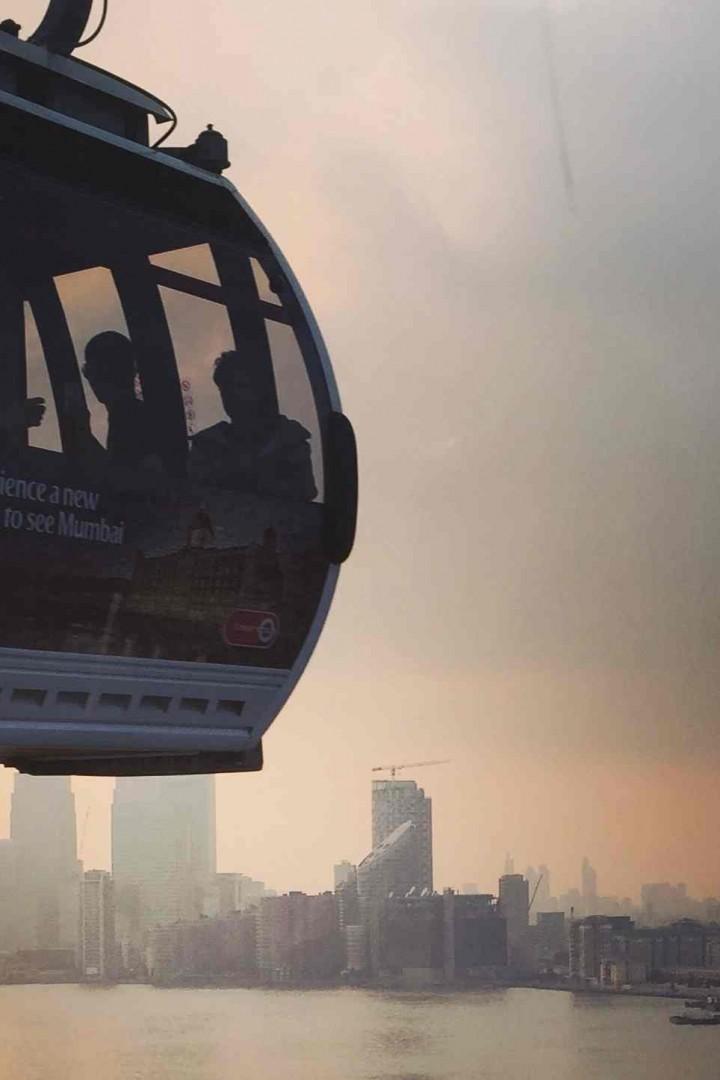 Survoler la Tamise avec le Téléphérique Emirates Air Line