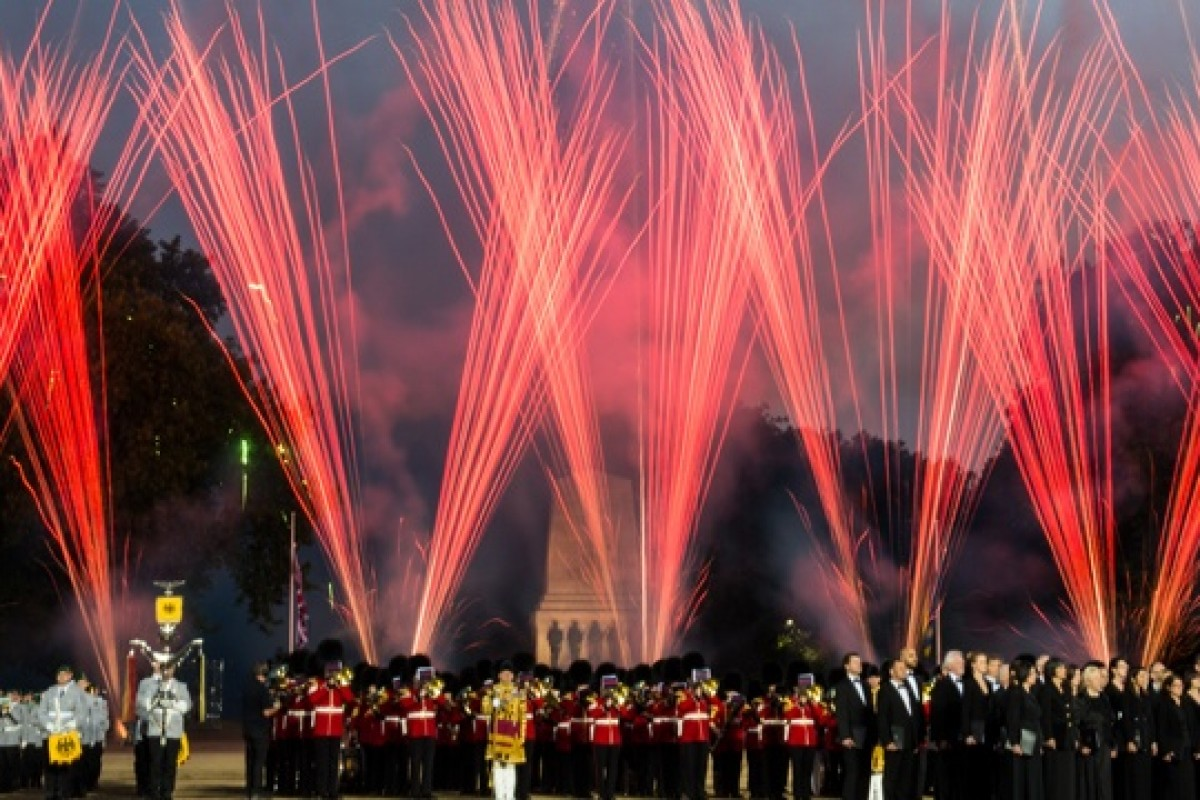 Beating Retreat : un spectacle de musique militaire