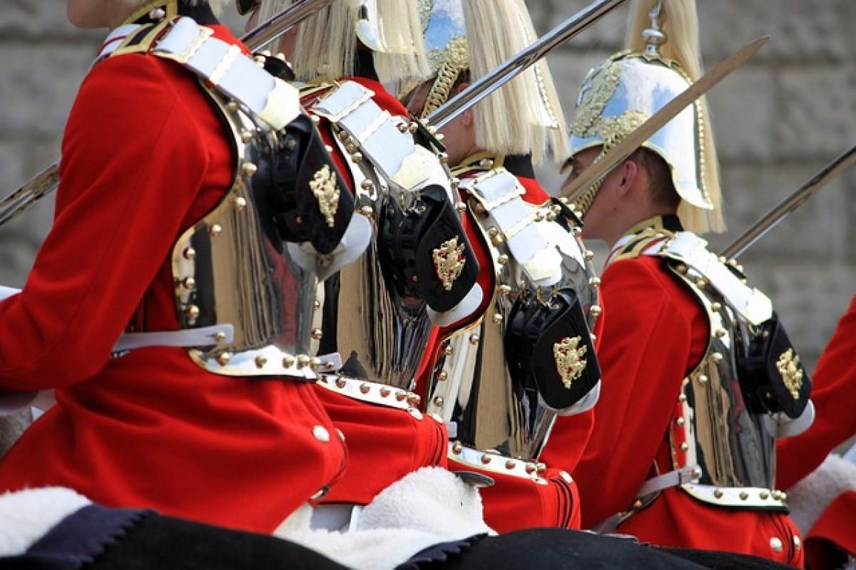 Horse Guards Parade: la relève de la garde à cheval