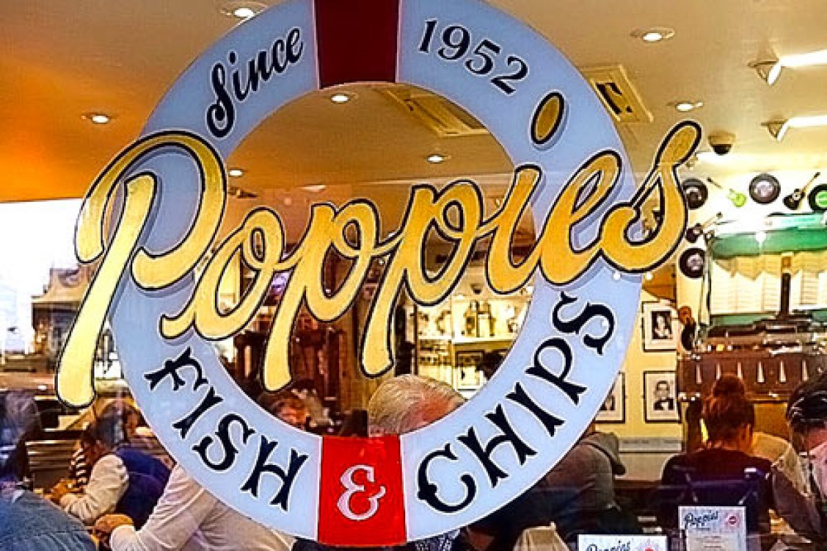 Poppies et ses fabuleux Fish and Chips !!!