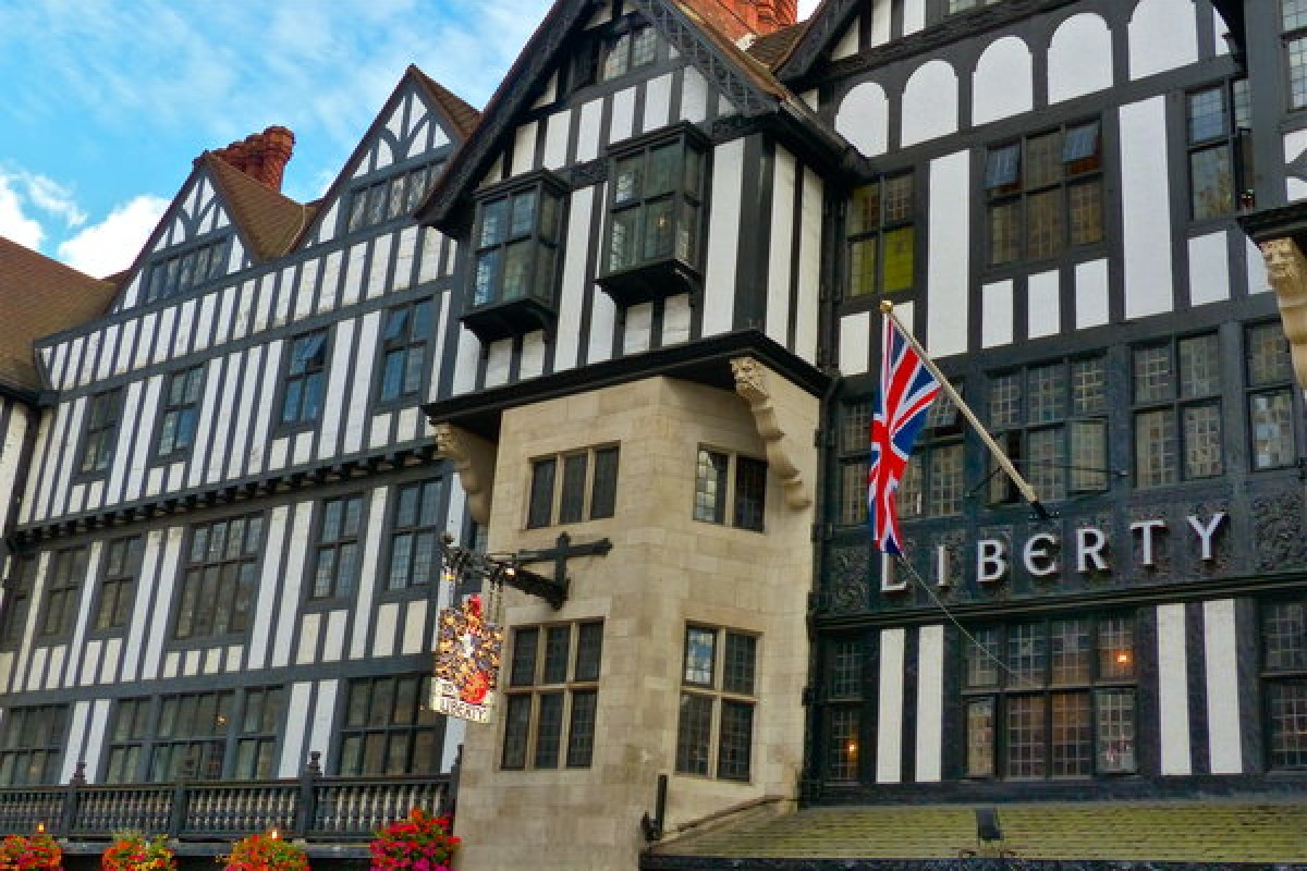 Magasin Liberty : du shopping so british !