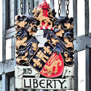 magasin-liberty-londres-emblème