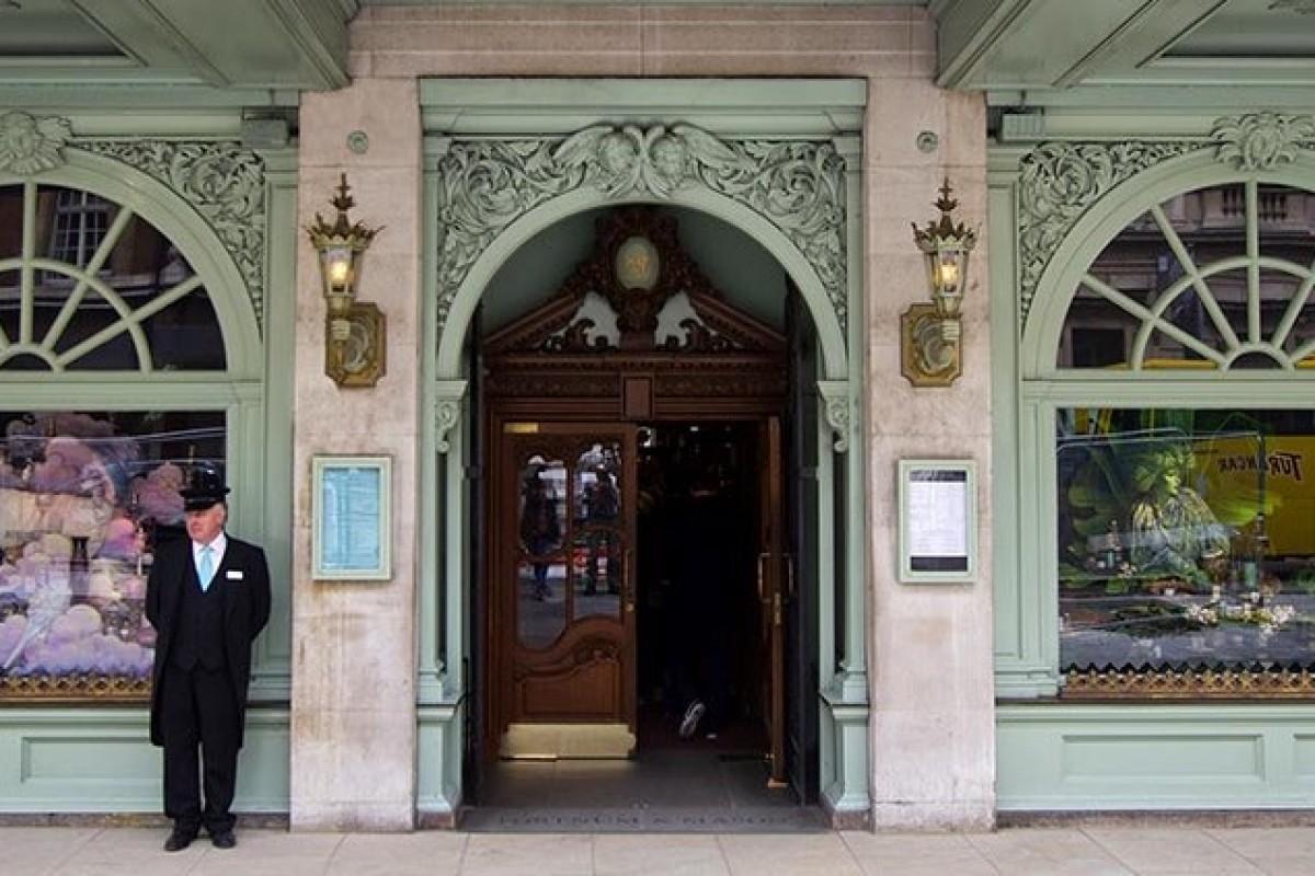 Fortnum & Mason l'épicerie fine de Londres