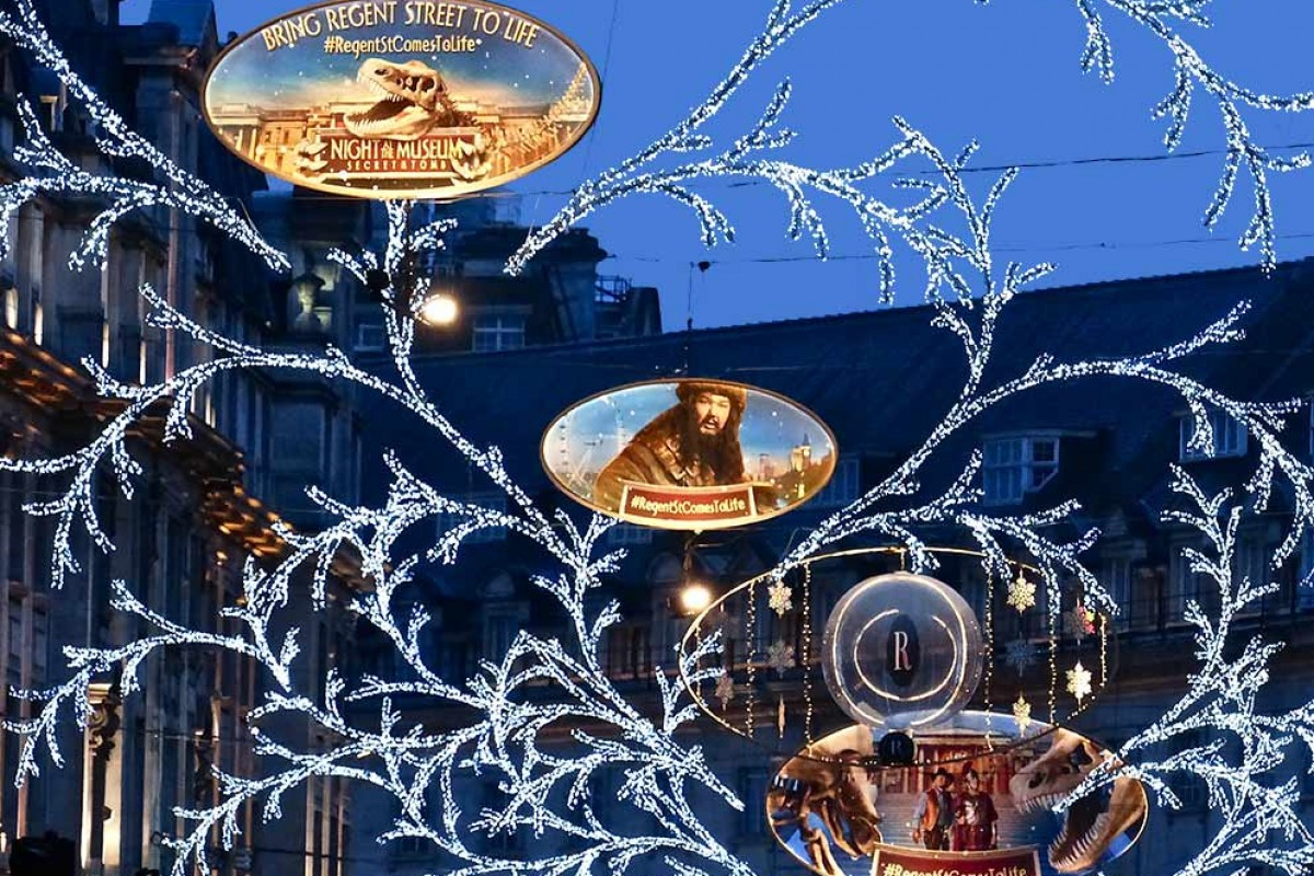 Les plus belles illuminations de noël à Londres