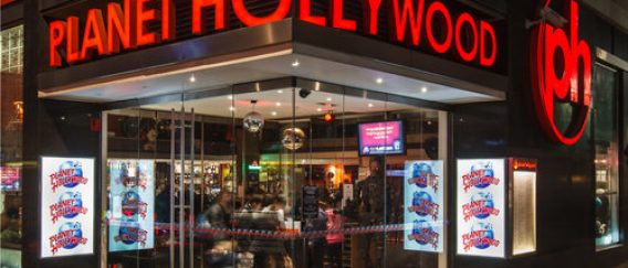 Planet Hollywood un restaurant américain branché cinéma