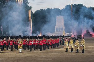 juin -beating retreat