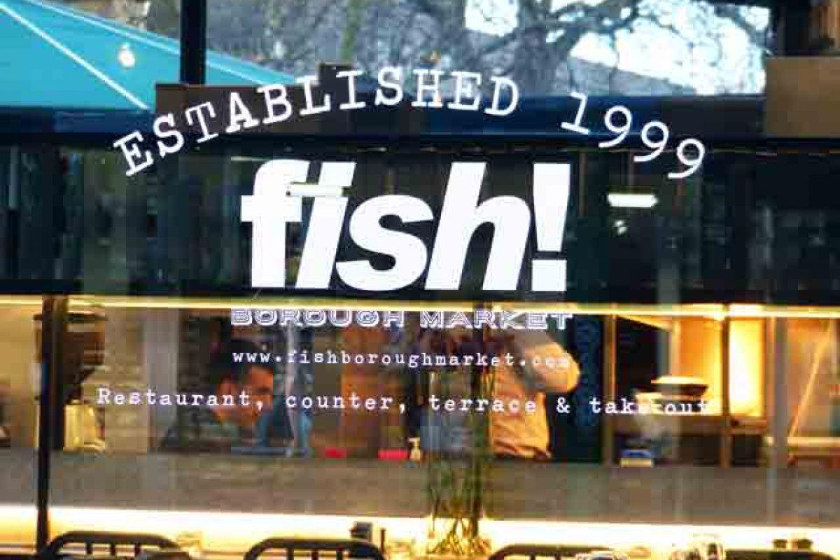 Fish ! Un restaurant de poissons à Borough Market