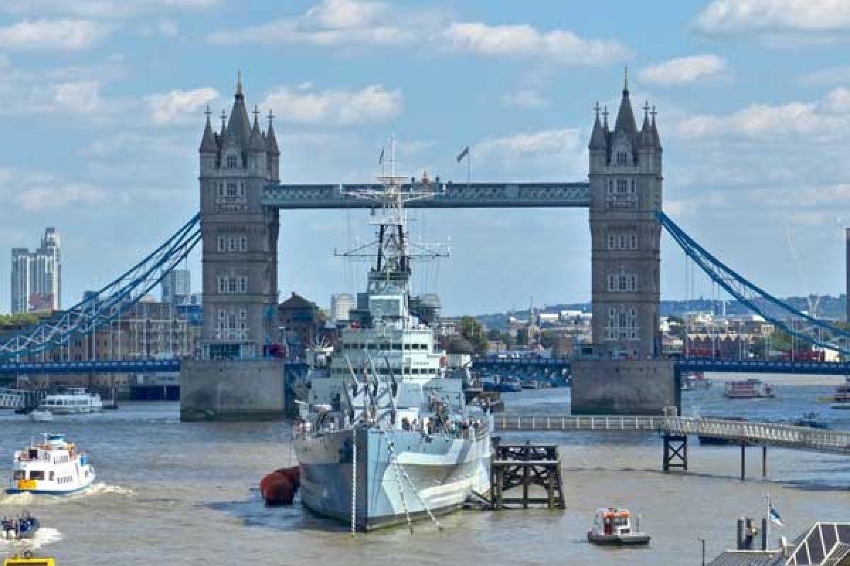 Visiter le croiseur HMS Belfast