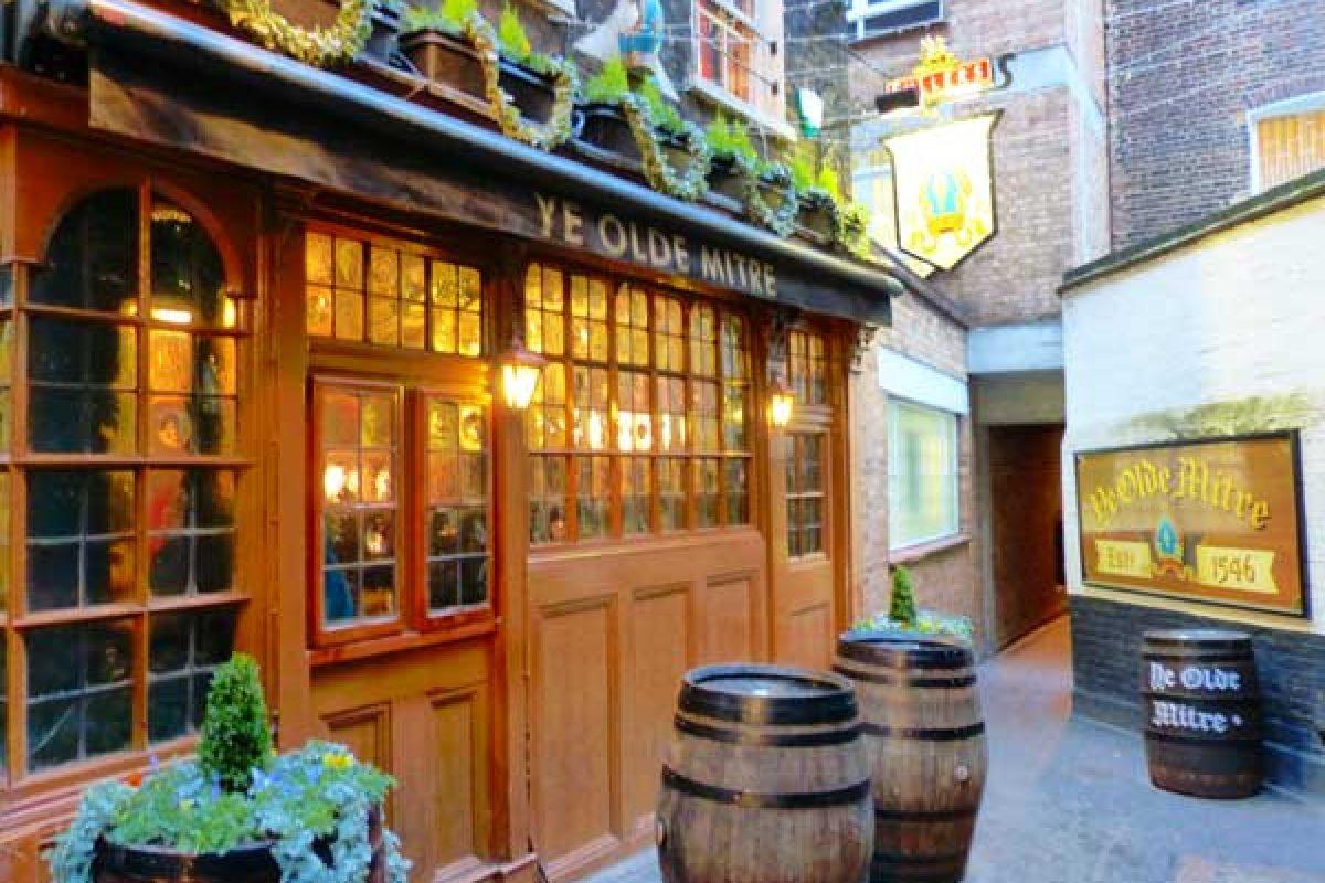 Ye Olde Mitre : un pub historique caché à Holborn