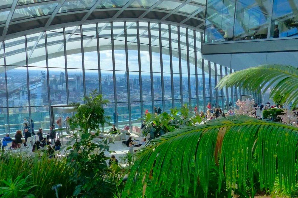 Sky Garden : une vue panoramique sur Londres