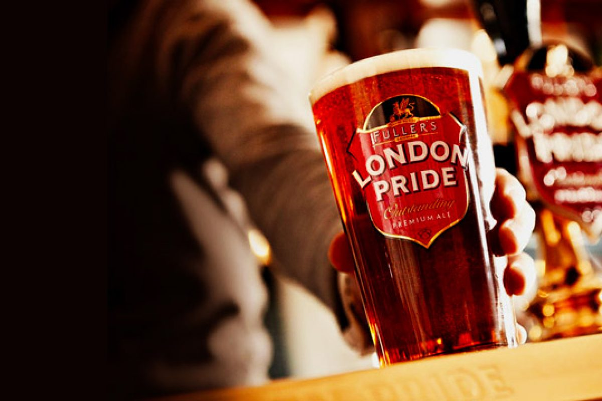 Pinte de bière gratuite dans les pubs Fuller's