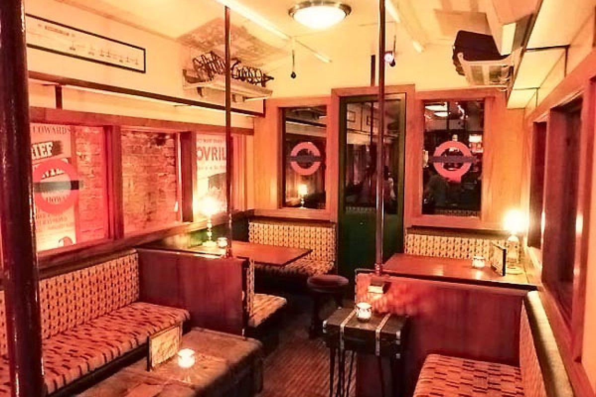 Bars insolites et secrets à Londres