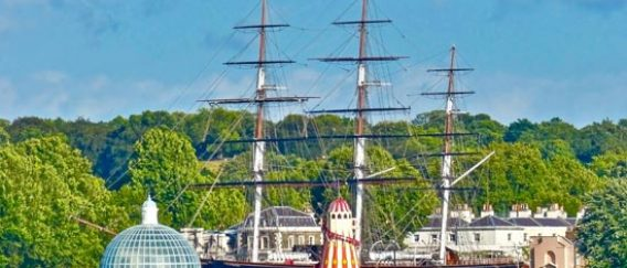 Cutty Sark : un clipper à Greenwich