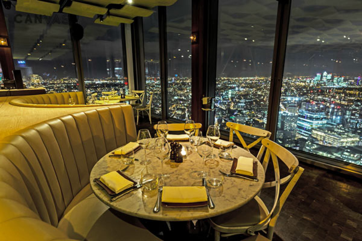 Duck & Waffle : restaurant panoramique au 40ème étage de Heron Tower