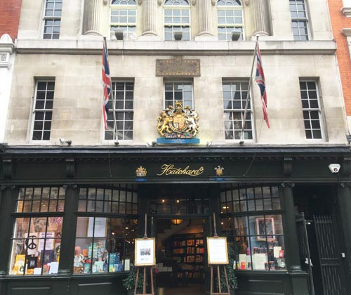 Hatchards-Bookshop