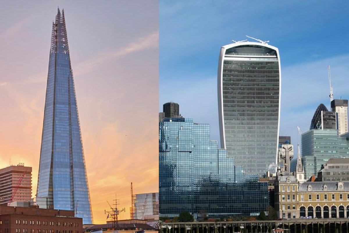 The View from The Shard versus Sky Garden : lequel visiter ?