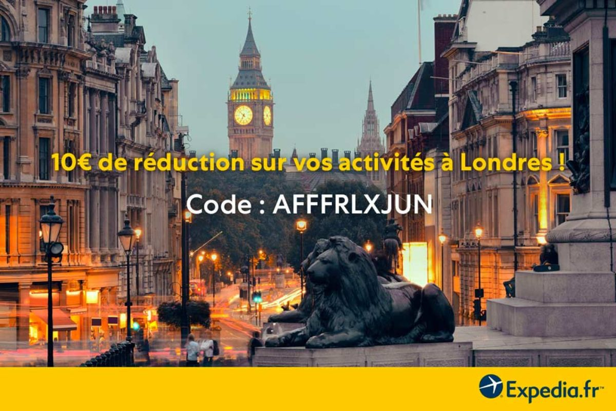 Bon Plan Code Promo Expedia – 10€ de réduction