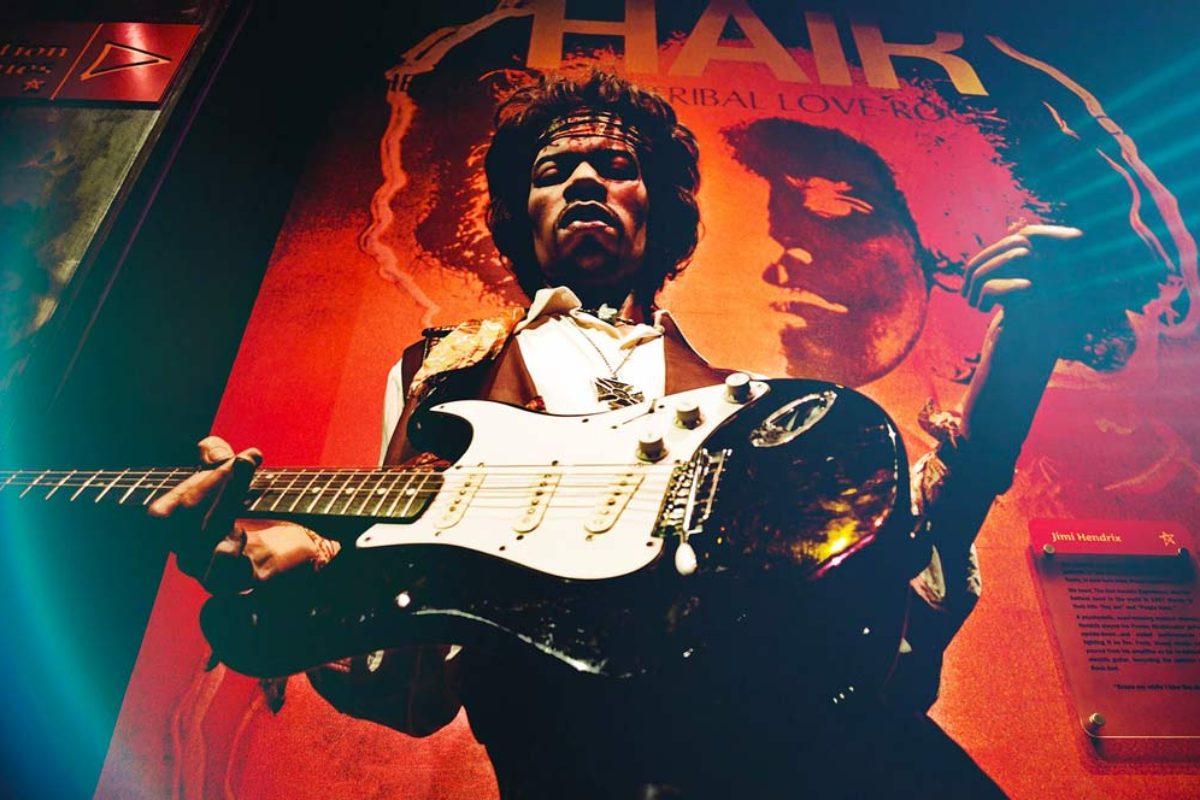 Sur les traces de Jimi Hendrix à Londres