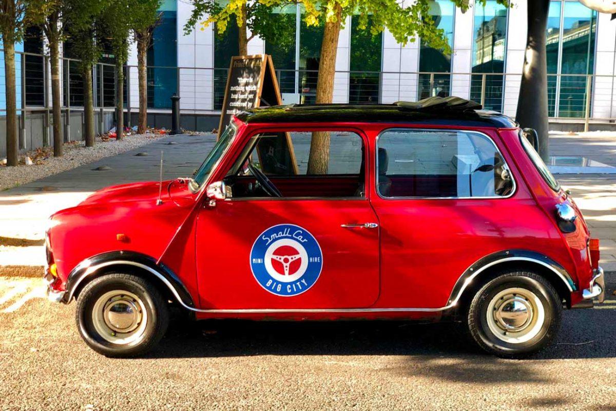 Visitez Londres en Mini Cooper avec un chauffeur privé