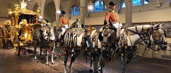 Royal Mews : les écuries royales du palais de Buckingham