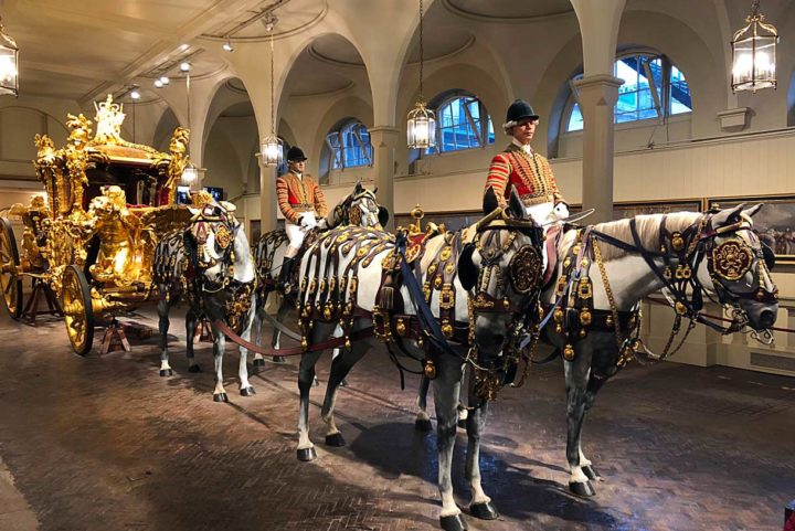 Royal Mews : les écuries royales du palais de Buckingham