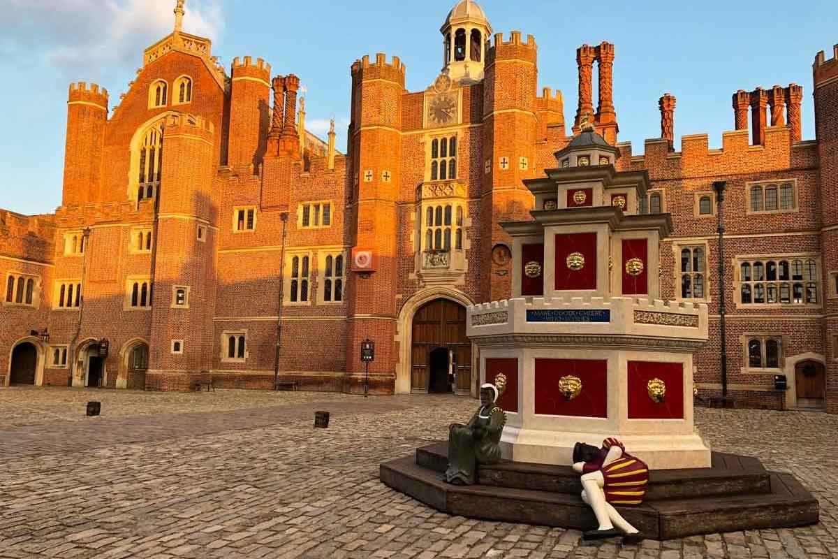 Hampton Court Palace : un château de style Tudor