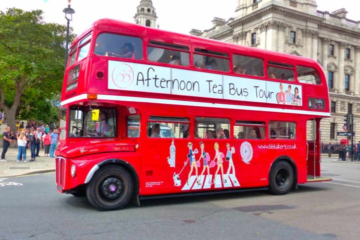 B-Bakery : l'afternoon tea dans un bus vintage