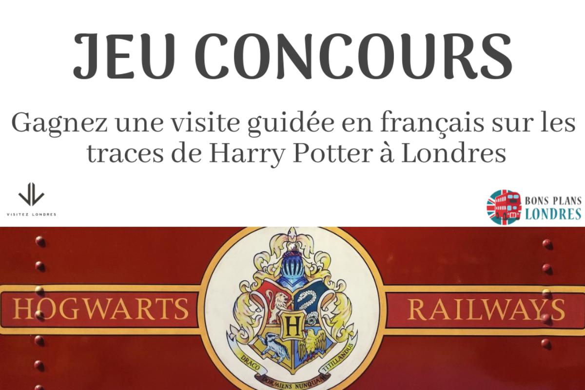 Gagnez une visite guidée en français sur les traces de Harry Potter