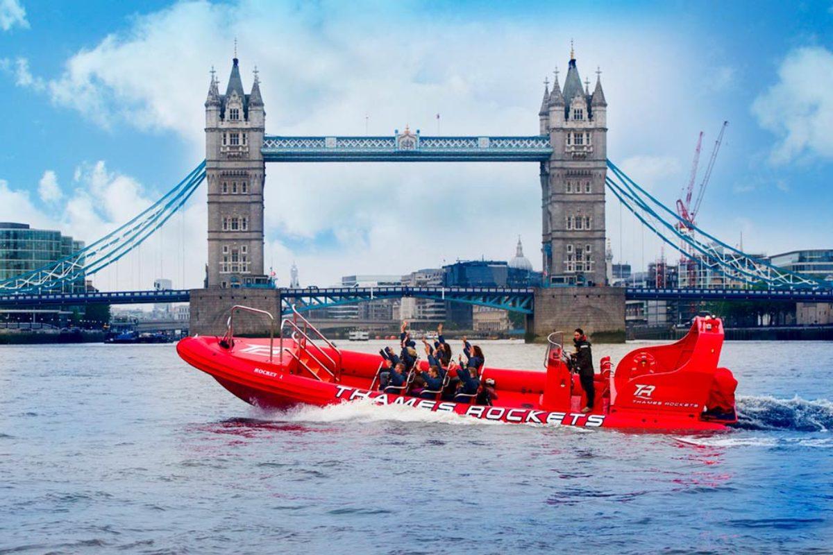 Faire une croisière en Speed boat sur la Tamise