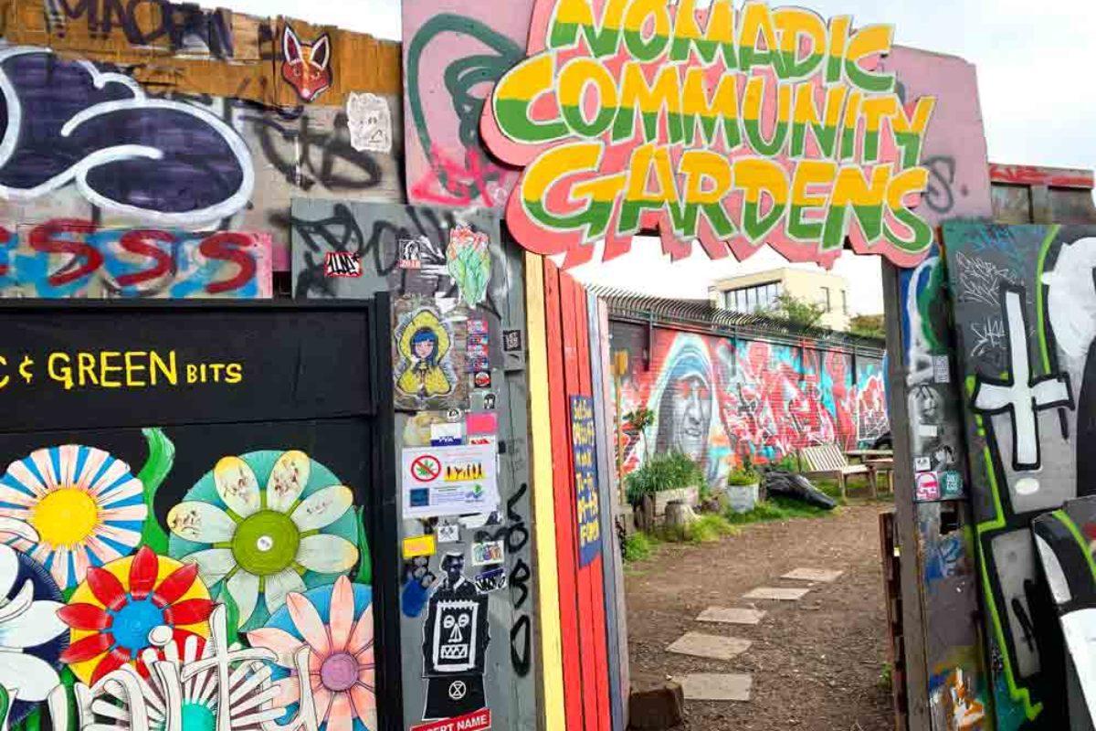 Nomadic Community Gardens : un jardin communautaire à Shoreditch