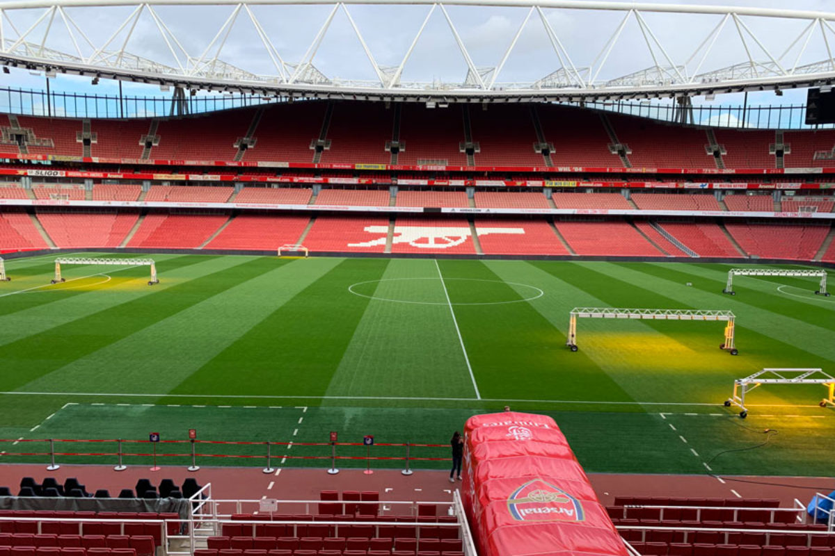 Emirates Stadium : visite du stade du club d'Arsenal FC