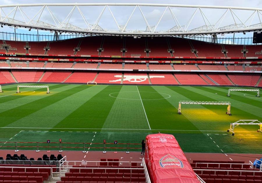 Emirates Stadium : visite du stade du club d'Arsenal FC - Bons Plans Londres